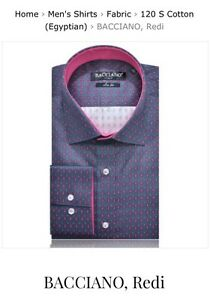 DRESS SHIRTS for men, MADE IN ITALY, brand new