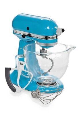 *NEW* KitchenAid KSM105GBCCL 5-Qt. Tilt-Head Stand Mixer w/ Glass Bowl - Cr Blue