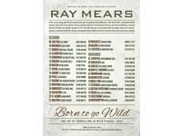 Ray Mears Born to be Wild 2x tickets