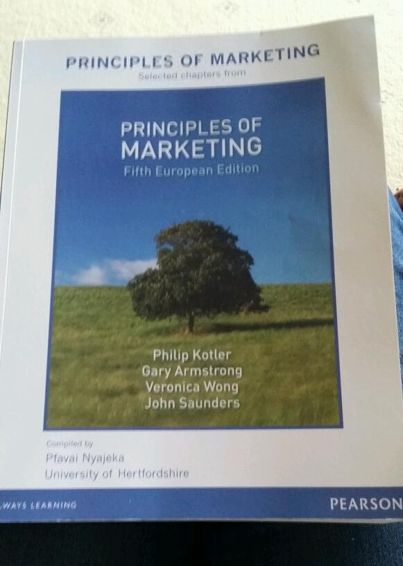 Principles Marketing Principles of Marketing 5th