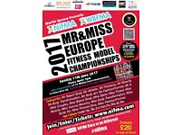 2017 NIFMA Mr & Miss EUROPE Fitness Model Championships