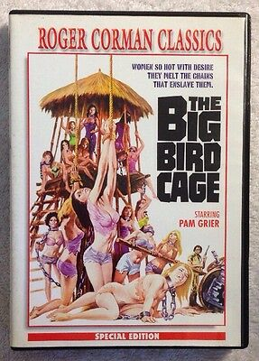 The Big Bird Cage (Prev. Viewed DVD ) VERY RARE HTF Roger Corman Classic