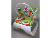 Fisher Price Woodland Friends Bouncer Chair