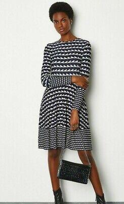 Karen millen Geo Print Dress UK Size 14