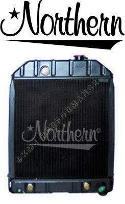 Northern 219869 Ford Tractor Radiator 4500 5100 5200 5600 6600 545 D8nn8005sb