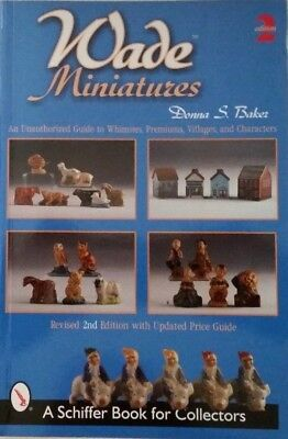 Wade Miniatures value guide book Whimsies Premiums Villages Charactors for sale  Galivants Ferry