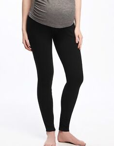 4 Black Maternity Leggings from H & M size M/L
