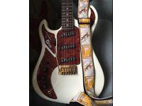 Burns Marquee Left Handed Guitar