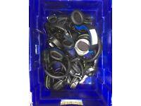 Box of broken headphones -FREE