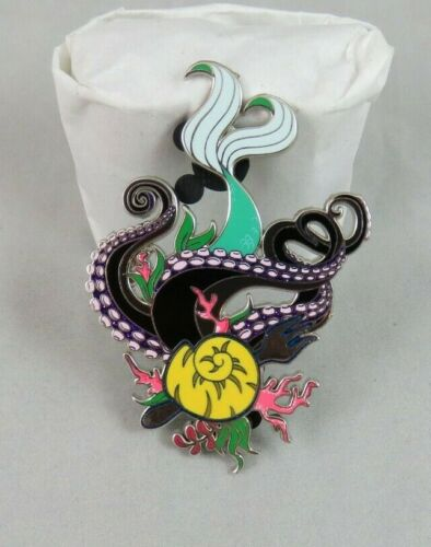 Disney Fantasy Pin - Ariel / Ursula - Tail Tentacles Icons - The Little Mermaid