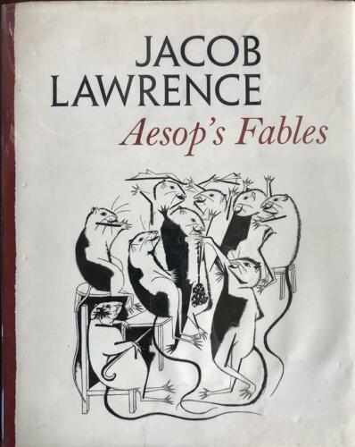 Jacob Lawrence-Signed Hardbound Book