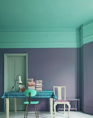 Two-tone it up to make a room look bigger. Image credit: plentycolour.com
