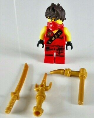 Lego NJO117 Ninjago Minifigure – Kai (Tournament Robe) – 70756 70752 851342