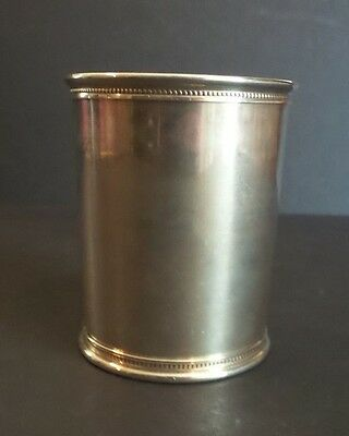 REED & BARTON STERLING SILVER GERALD FORD PRESIDENTIAL BEAKER / MINT JULIP CUP