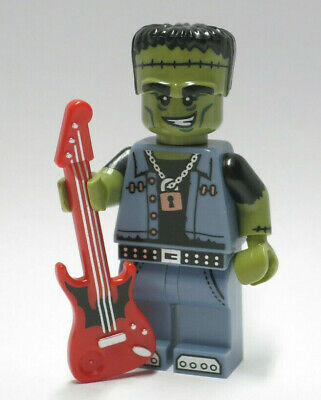 NEW Monster Rocker Guitar Series 14 Monsters Halloween LEGO Minifigure Figure