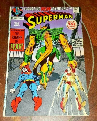 Superman #241, (1971, DC): The Shape of Fear!