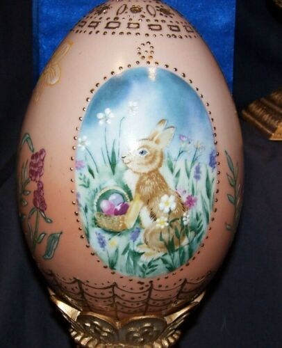 The Four Seasons Collection Eggs by Domestications Spring & Winter Easter