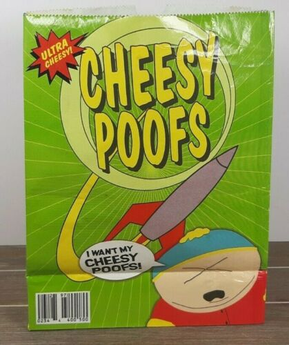 South Park Cheesy Poofs Bag