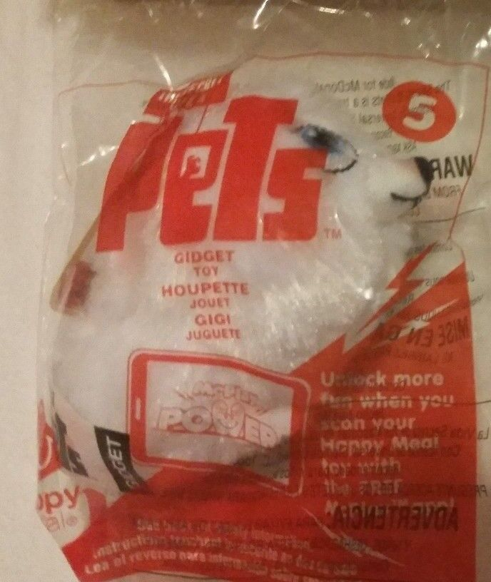 2016 McDonald/'s The Secret Life of Pets Happy Meal Toy Sealed #7 Buddy