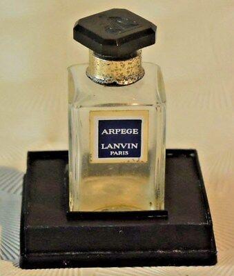 C97  Ancien flacon de parfum de collection Lanvin Paris France
