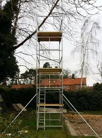 BRAND NEW SCAFFOLD TOWER - QUALITY BRITISH STEEL - HIGH SPECIFICATION