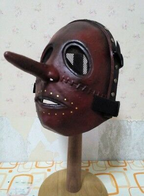 Halloween Slipknot Chris Fehn Mask Long Nose Hand-made from Thailand