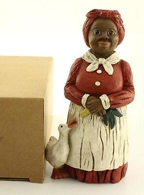 "All Gods Children Resin Black Figurine Martha Holcombe 8"" ANNIE MAE MAMMY 1310"