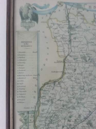 Thomas Moule map of Essex