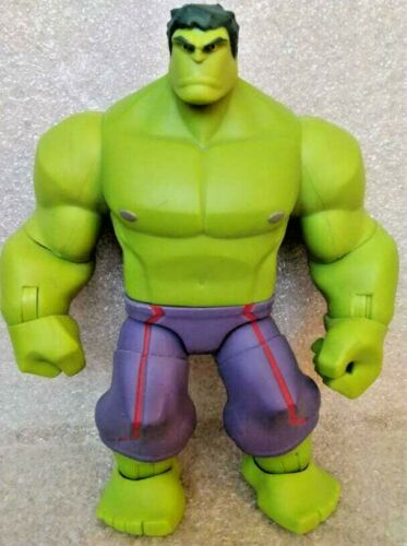 Disney Avengers Incredible Hulk Marvel Toy Box 6 Inch Fig Used ONLY SAT ON SHELF