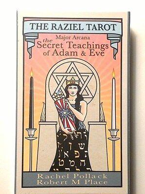 The Raziel Tarot (Cards) by RM Place & R Pollack 2016 BOX SET
