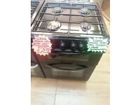 LOGIC BRAND NEW 60CM WIDE DOUBLE OVEN GAS COOKER