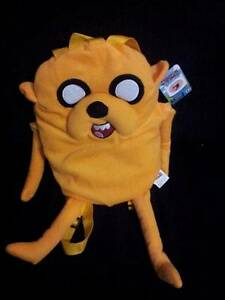 Adventure Time Jake Plush Backpack Elizabeth Vale Playford Area Preview