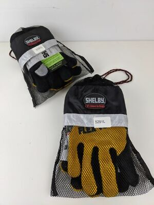 Sz Large Shelby 5291 Tuff Glove Structural Firefighting Glove W Nomex Wristlet
