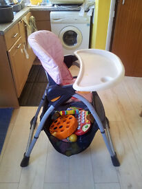 High chair for a sale