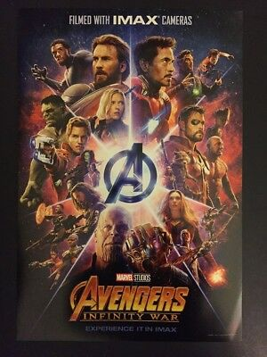 Marvel Avengers Infinity War, First Showing Exclusive Official Poster