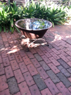 Iron water feature / Fire Pit