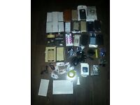 joblot of iphone & Samsung phone accessories