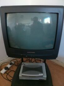 Television with freeview box