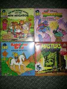 1980's 33 1/3 read along records
