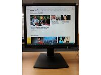 """SHARP LL173G-B TFT Monitor 17"""" LCD Screen fully working, but with a broken stand"""