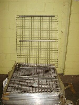36 X 46 Wire Mesh Deck For Pallet Rack. 15-20 Various Uprights Cross Separate