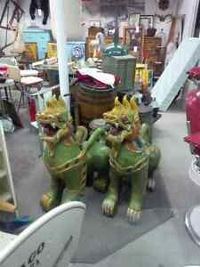 Wooden Dragon dogs