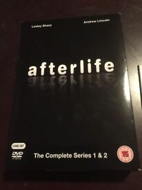 Afterlife (UK Series) 1&2 Good Condition