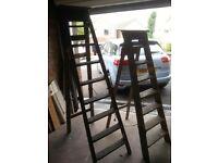 8 tread step ladders