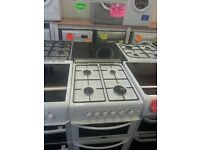 BELLING 50CM WIDE DOUBLE OVEN GAS COOKER