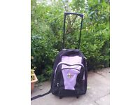 REDUCED!Light KArabar wheeled Backpack/travel bag with rain cover-42L- Cabin size- Multipockets