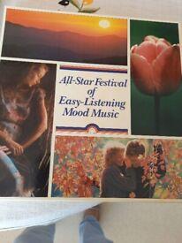 All-Star Festival of Easy Listening Mood Music, box set (8 LPs)
