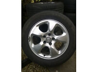 Set of 16 Inch Alloy Wheels - Fits Ford, Jaguar, Volvo & Others