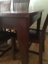 9 piece table & chairs, beautiful, elegant and versatile style Elwood Port Phillip Preview