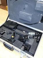 JVC LENS CONTROL KIT, MARSHALL LCD MONITOR, ROAD CASE